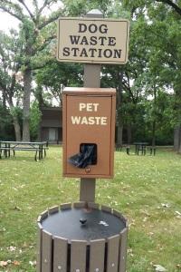 Dog Bag Station Lions Park