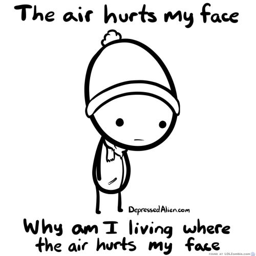 Air Hurts My Face Cartoon