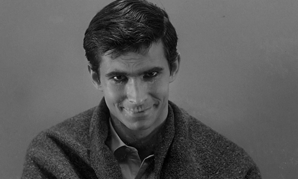 Image result for image, photo, picture, creepy perkins in psycho