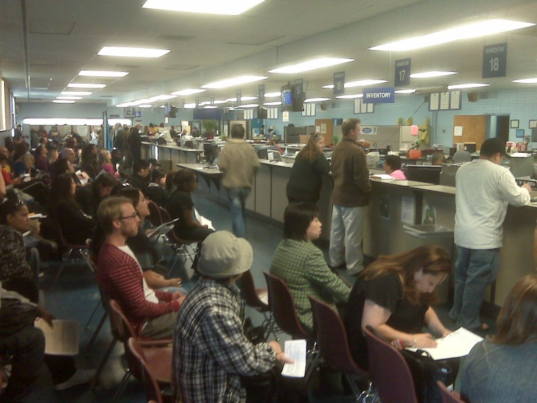 Image result for image, picture, photo, horrible dmv