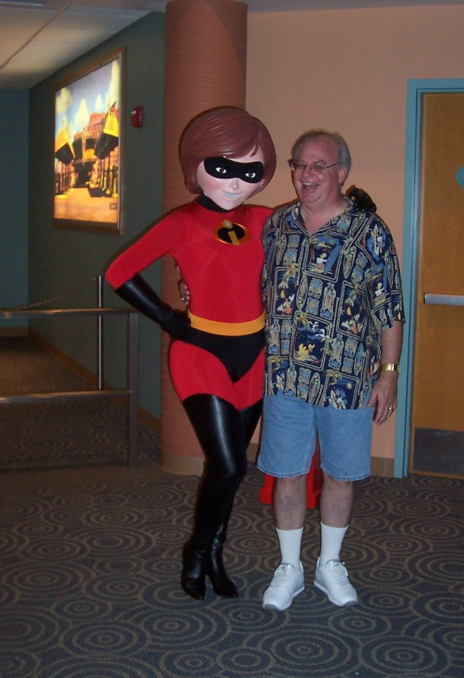 Kevin & Mrs Incredible